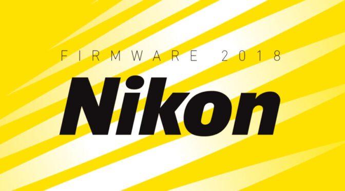 Actualización Firmware Nikon 2018 | Fotora