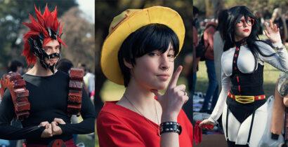 Retratos en evento de cosplay y animé